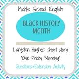 "Black History Month Langston Hughes' ""One Friday Morning"""