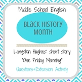 "Black History Month Langston Hughes' ""One Friday Morning"""