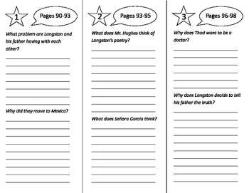 Langston Hughes: Poet of the People Trifold - Imagine It 4th Grade Unit 1 Week 4