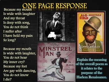 Langston Hughes & Maya Angelou Poetry Compare and Contrast Student Presentations