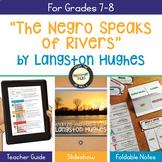 Langston Hughes Poetry Analysis The Negro Speaks of Rivers