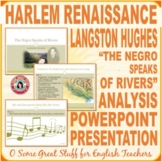 "Black History Langston Hughes ""The Negroe Speaks of Rivers"