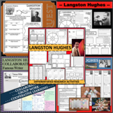 LANGSTON HUGHES BUNDLE Poet Research Project Poetry Biography Notes