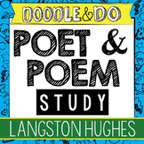 "Langston Hughes and ""Harlem"" Study – Doodle Article, Doodle Notes, Flip Book"