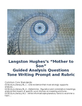 "Langston Hughes's ""Mother to Son"" Poetry Analysis"