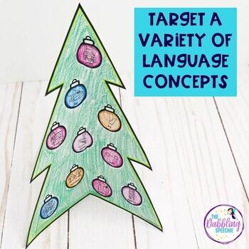 Language 3-D Christmas Tree Craft