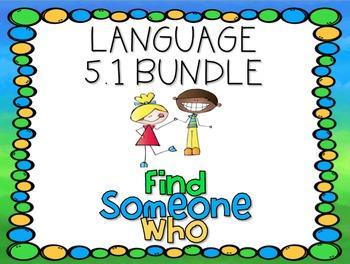 Language 5.1 Find Someone Who Bundle