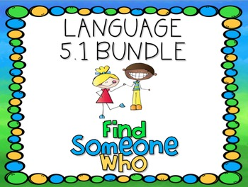 Language 5.1 Find Someone Who Bundle