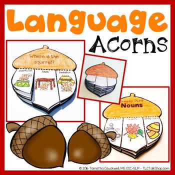Language Acorns: Acorn Craft for Language Skills