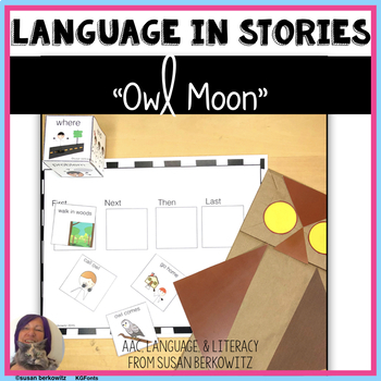 Owl Moon Language Activities Adapted for Speech Language or Special Ed