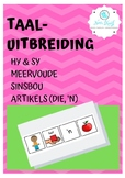 Language Activities - Afrikaans (hy, sy, meervoude, sinsbou)