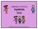 Language Activities: Pronouns Pack