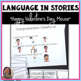 Language Activities for Happy Valentine's Day, Mouse for Speech Language