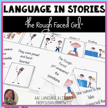 The Rough Faced Girl language skills resources speech therapy or differentiation