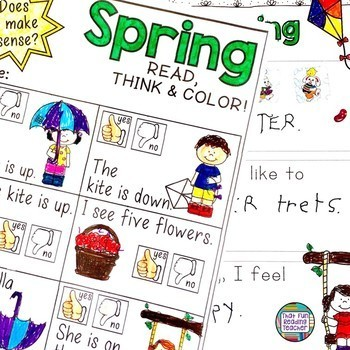 Early Literacy Activities Bundle for the year | Distance Learning
