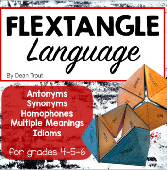 Craftivity Language Activity Flextangle Word Relationships