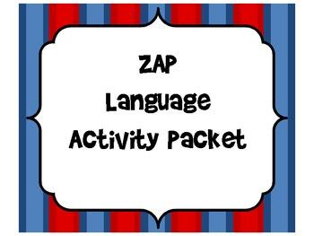 Language Activity Packet