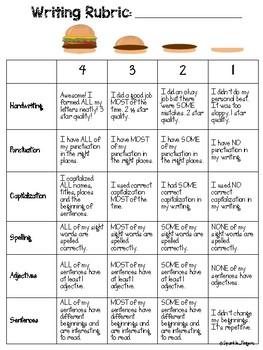 Language, Adjectives- Fall Writing Crafts (House, Pumpkin, Scarecrow)