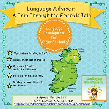 Language Advisor: A Trip Through the Emerald Isle {middle/high school language}