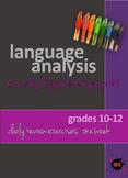 Language Analysis: Figurative Language #2 - Powerpoint Daily Exercises: one week