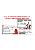 Language Analysis- World's Wonders Worn Down Scholastic Co