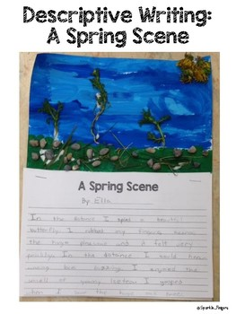 Language, Art- Descriptive, Spring Landscape