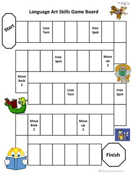 Language Art Skill Cards