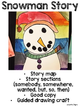 Language, Art- Snowman Story