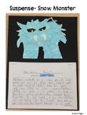 Language, Art- Suspense, Snow Monster