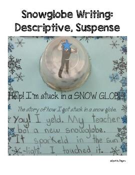 Language, Art, Winter- Help! I'm Stuck In A Snow Globe