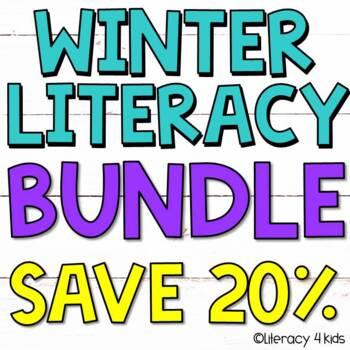 Language Arts Winter Literacy $$$ Savings BUNDLE for Third Graders