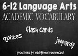 Language Arts Academic Vocabulary Bundle