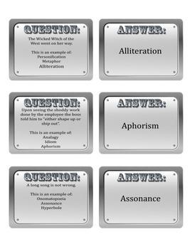 Language Arts Academic Vocabulary Cards