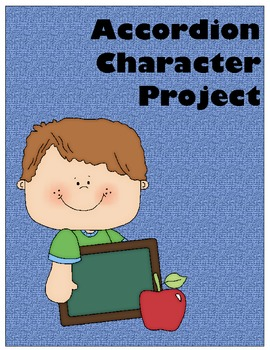 Language Arts Accordion Character Project