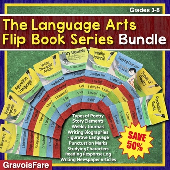 Language Arts Activities, Fun Stuff, & Reference Guides: BUNDLE 50% off