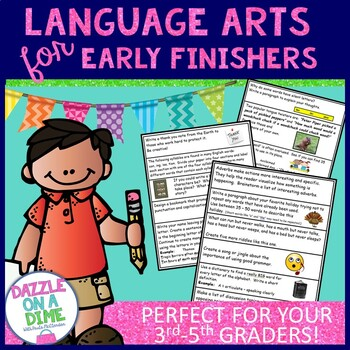 Early Finishers - Language Arts