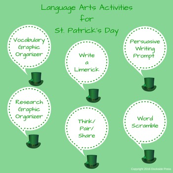 Language Arts Activities for St. Patrick's Day
