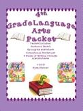 Language Arts & Writing Activities