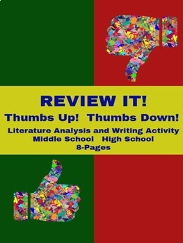 Writing Activity - Review It!