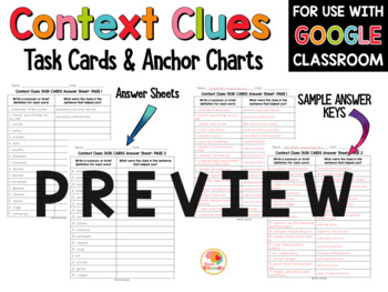 Language Arts Task Card and Anchor Chart MEGA BUNDLE for 3rd-5th Grade