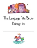 Language Arts Binder