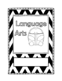 Language Arts Binder Cover