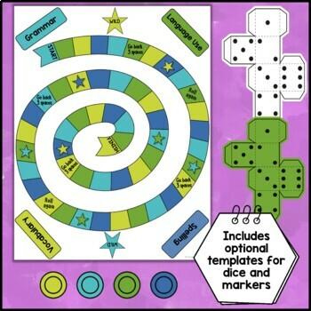 Language Arts Board Game