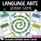 Language Arts Board Game - Grammar, Vocabulary, Spelling
