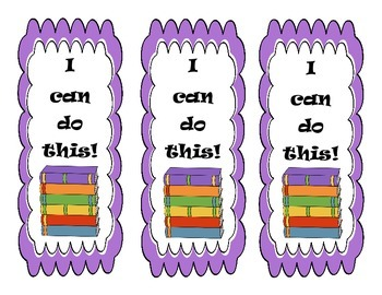 Language Arts Bookmarks