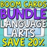 Language Arts Boom Cards (Digital Task Cards) BUNDLE for T