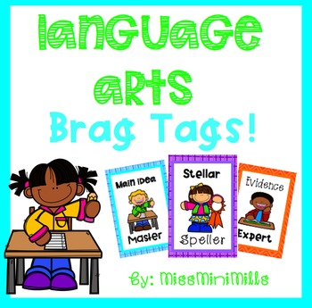 Language Arts Brag Tags