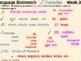 Language Arts Brainwork Activity Slide Presentation Weeks 25 thru 32