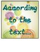 Language Arts Bulletin Board - Show Me the Evidence