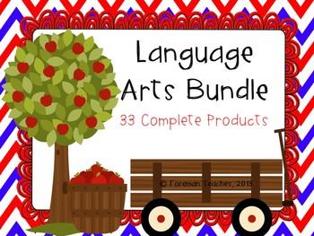 Language Arts Bundle - 33 Products (Grades 3 - 5)